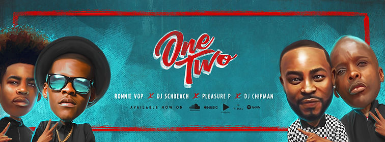 Bannr Design For Ronnie VOP Pleasure P DJ Schreach DJ Chipman One Two