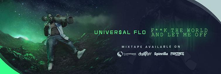 Banner Design For Recording Artist Universal Flo