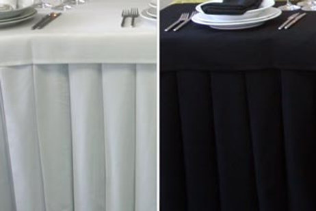 Bridal Table Valance - from $50.00