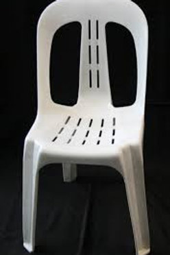 White Stacker Chair