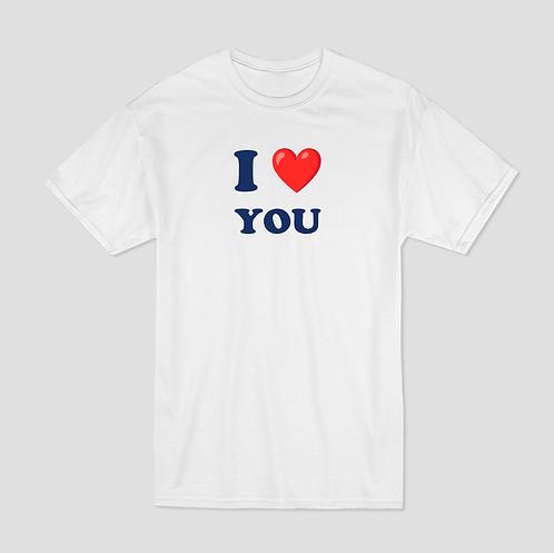 T-shirt Imprimé - I <3 YOU