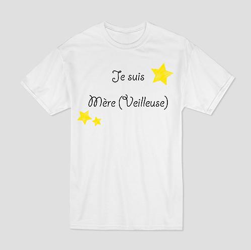 T-shirt Imprimé - Mère (veilleuse)