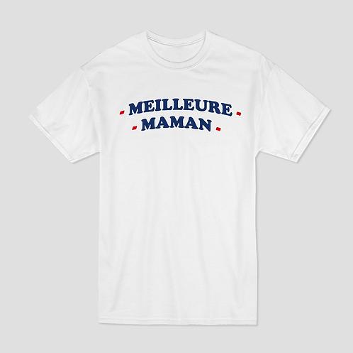 T-shirt Imprimé - Meilleure Maman