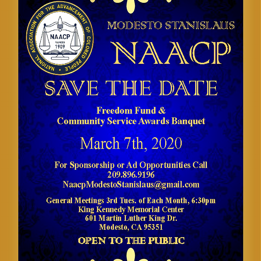 2020 Freedom Fund Banquet & Community Service Awards