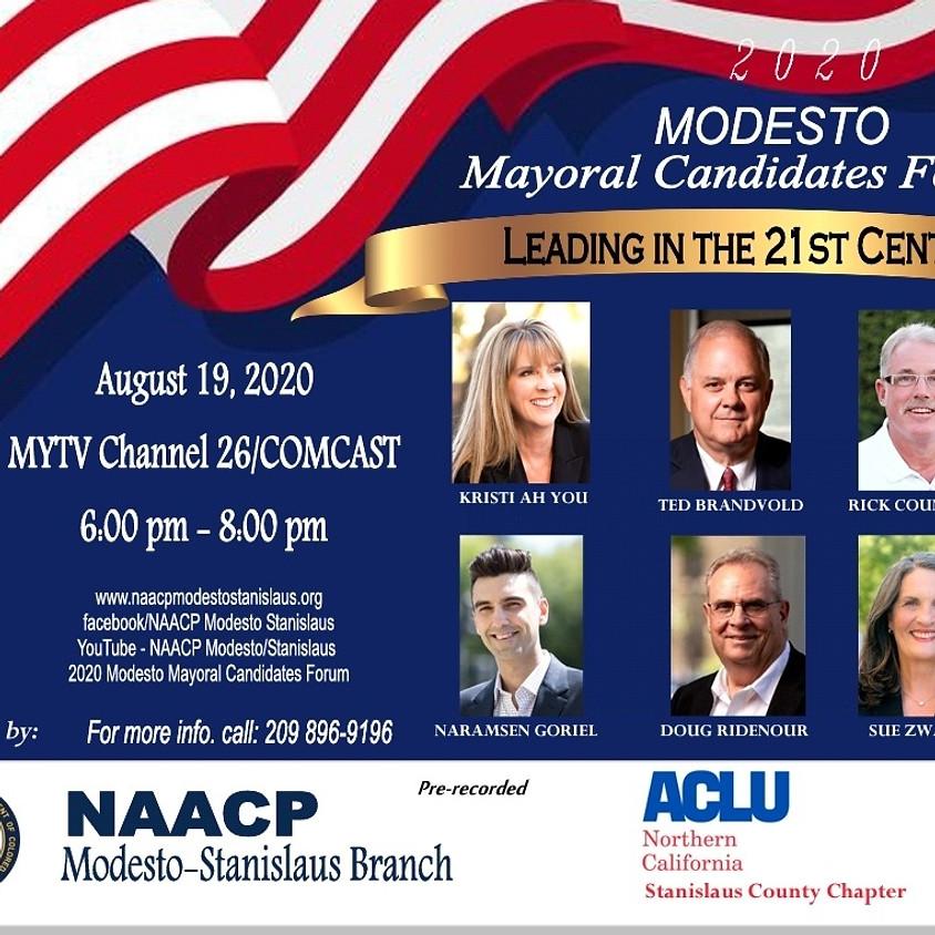 Modesto Mayoral Candidates Forum 2020