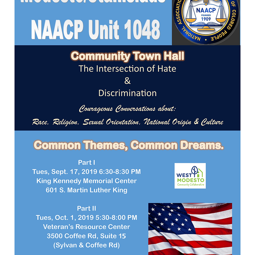 Town Hall - Intersection of Hate & Discrimination - Part II