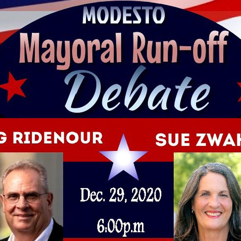 Modesto Mayoral Run-off Debate