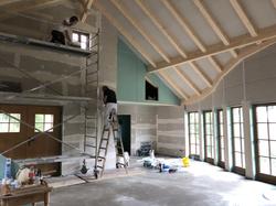 Trockenbau Niedrigenergie Holzhaus