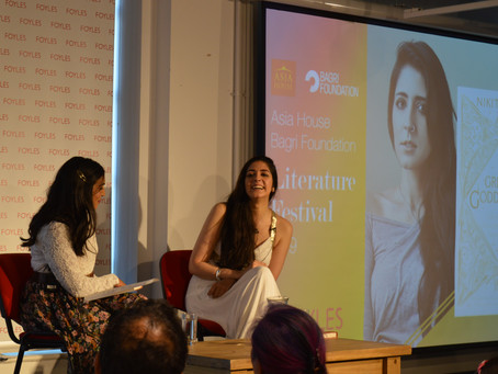 The UK's most followed poet returns to #AsiaLitFest with her new book 'Great Goddesses'