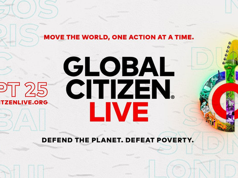 Global Citizen Concert Streaming Today