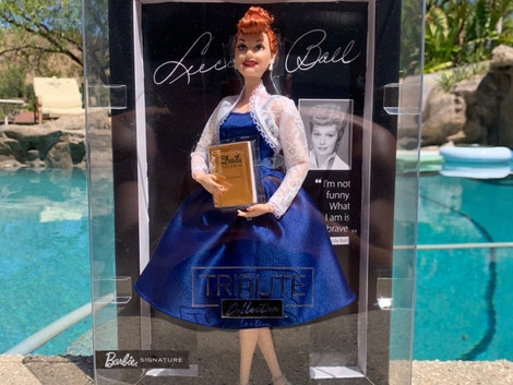 Mattel Introduces Lucille Ball Doll on Her 110th Birthday