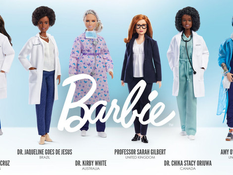 New Line of Barbie Healthcare Workers Arrives with Third Wave of COVID