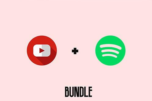 YouTube + Spotify Promo Bundle