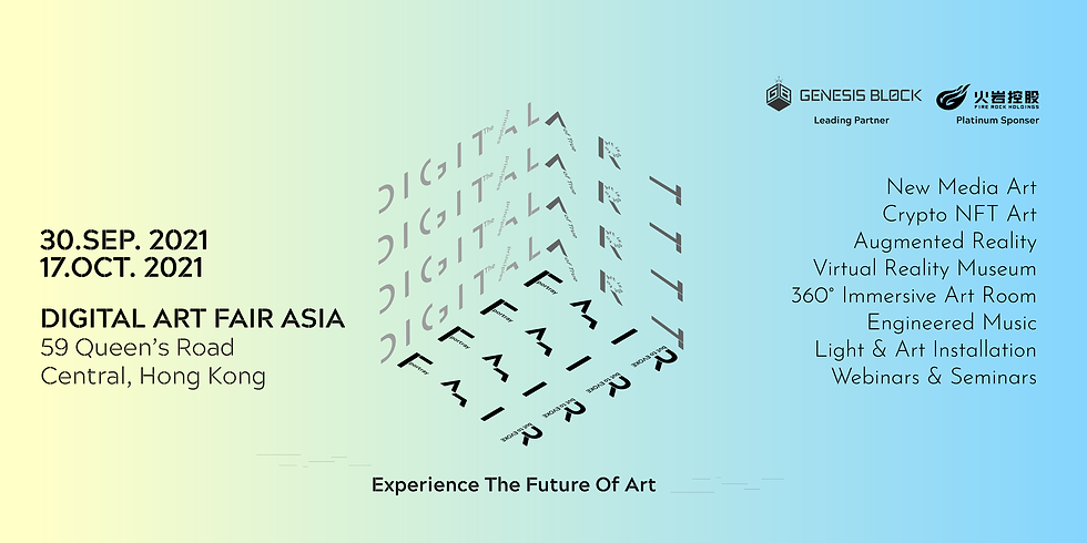 Digital Art Fair Asia 2021 Hong Kong