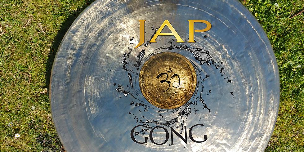 Bain de gong yin à la salle des fêtes de Cartelègue à 21h00.