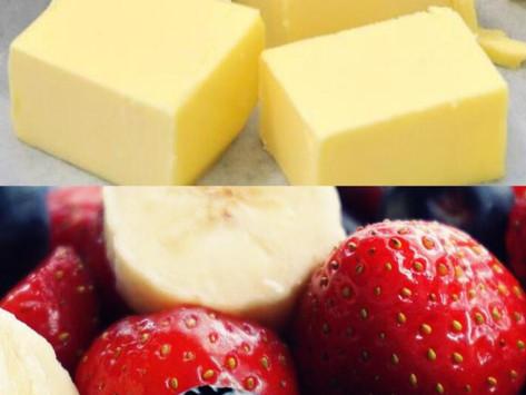 Fett-Kalorien vs. Zucker-Kalorien