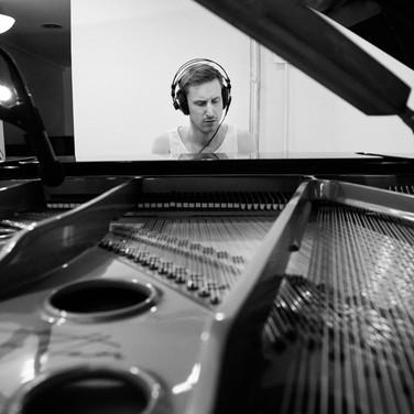 Recording session, 2018