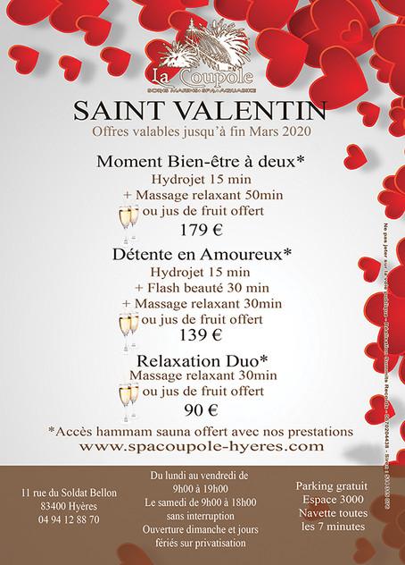 Offres Saint Valentin 2020