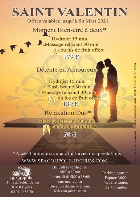 Offres de la Saint-Valentin 2021