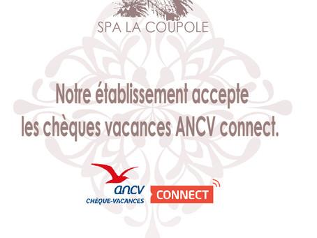 Chèques vacances ANCV connect