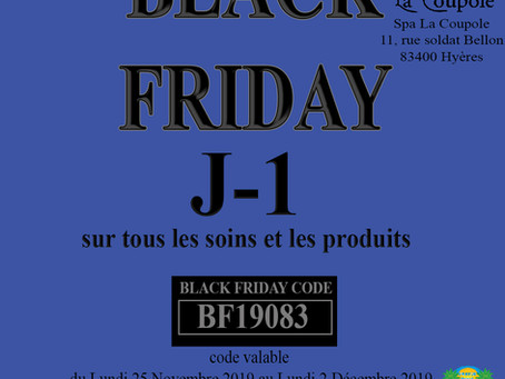 Attention ***Black Friday***
