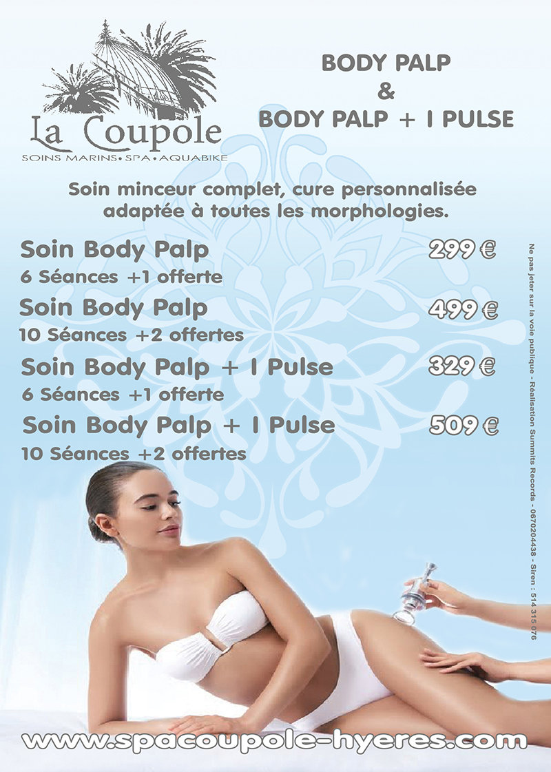 Spa La Coupole Flyer Body Palp +Infra Ca
