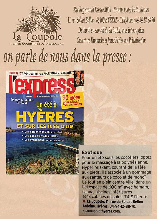 Spa La Coupole Hyeres