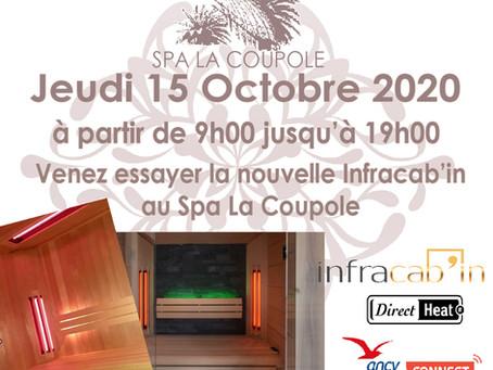 Les Journées Portes Ouvertes Infracab'in au Spa La Coupole à Hyères