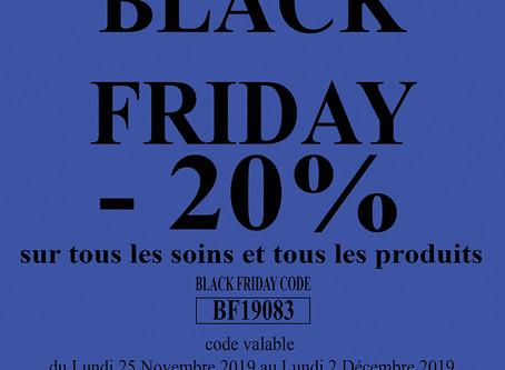Black Friday au Spa la Coupole
