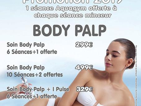 Body Palp + Séance Aquagym Offerte