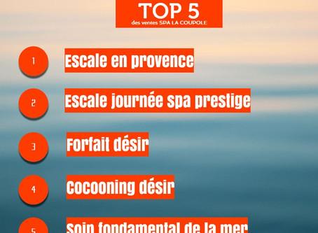 Top 5 de la e-Boutique