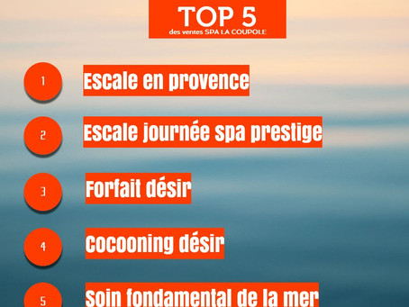 Top 5 de la e-Boutique