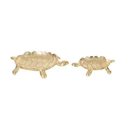 Charolas de aluminio tortugas set de 2