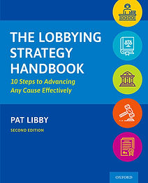 The Lobbying Strategy Handbook Pat Libby