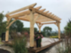 Pine Pergola built by David Holme.jpeg