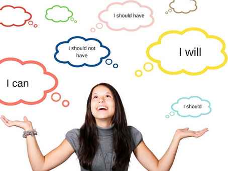 """Should"" vs ""Will"" - The Power of Self Talk"