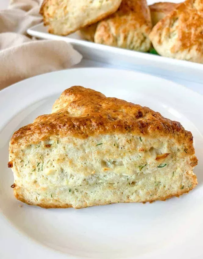 Dill Scones with Feta Cheese