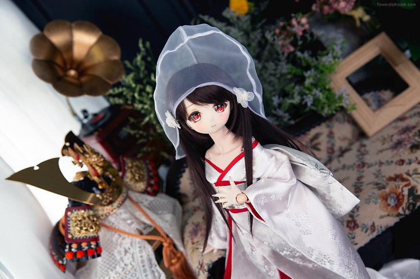 MDD ✦ 花嫁・白無垢 (4通りの着用方法)