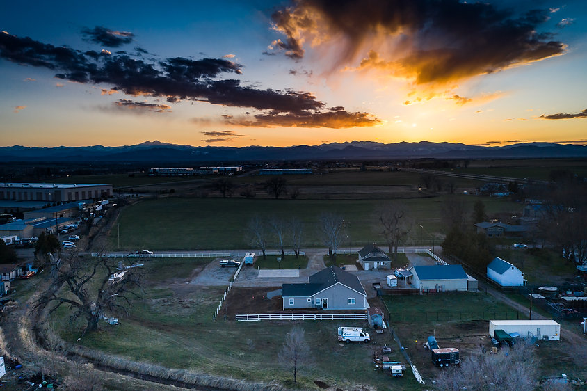Loveland real estate photographer, drone photography, bradley's digital imaging