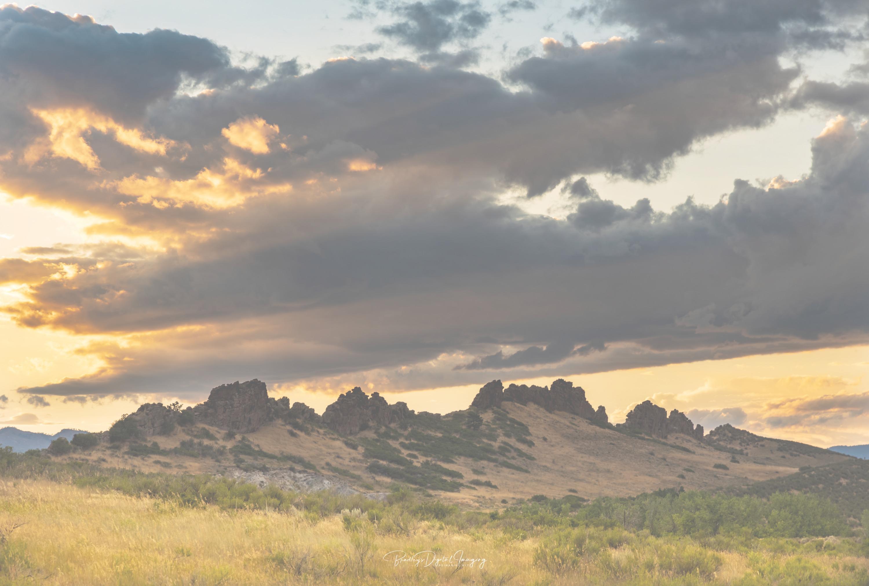 colorado landscape, devils backbone,