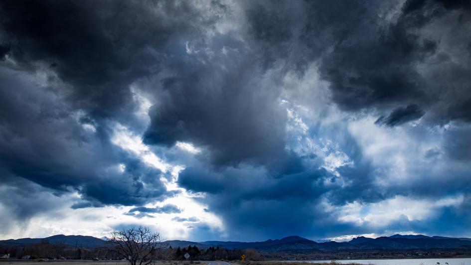 Spring storms, Western Loveland