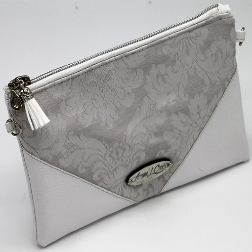 "Pochette Bandoulière ""WHITE ROYAL"""