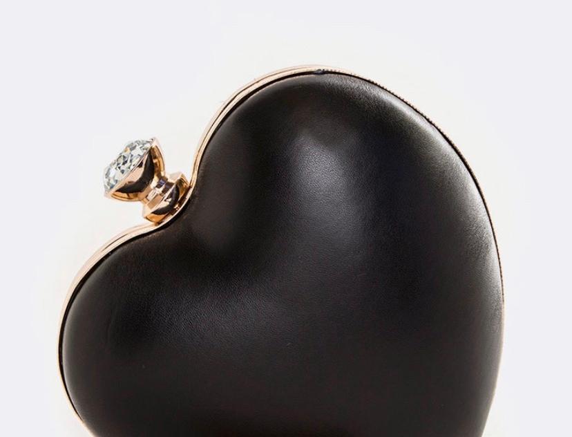 Black Heart Purse