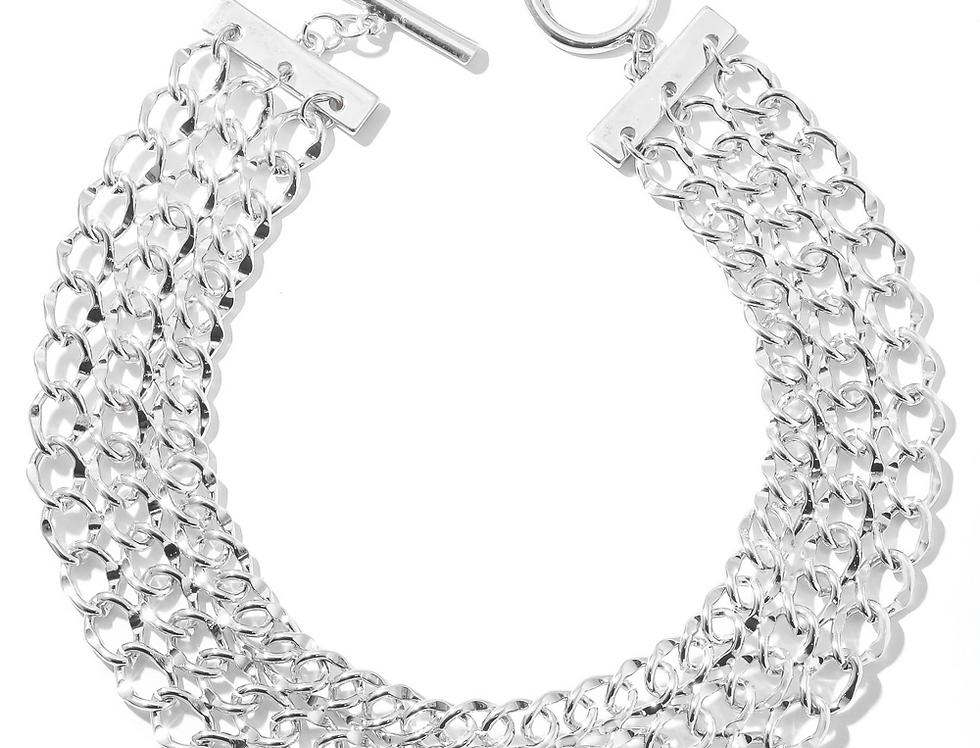 Sliver Chain Choker