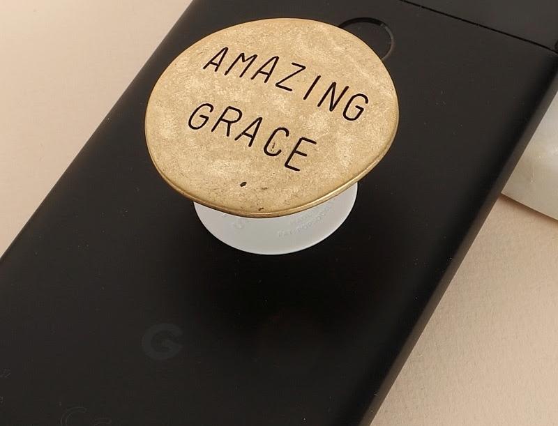 Amazing Grace Charm