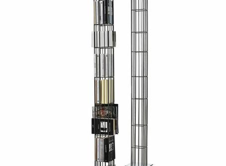 Metrica Tower, un elemento d'arredo semplice ed elegante