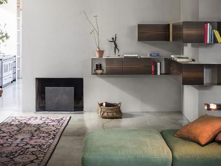 Partout Wall, design lineare e geometrico
