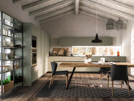 SOHO, una cucina armoniosa e solare