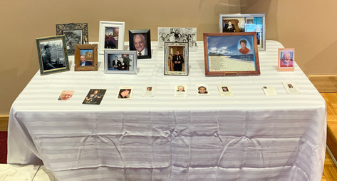 Table of Rememberance