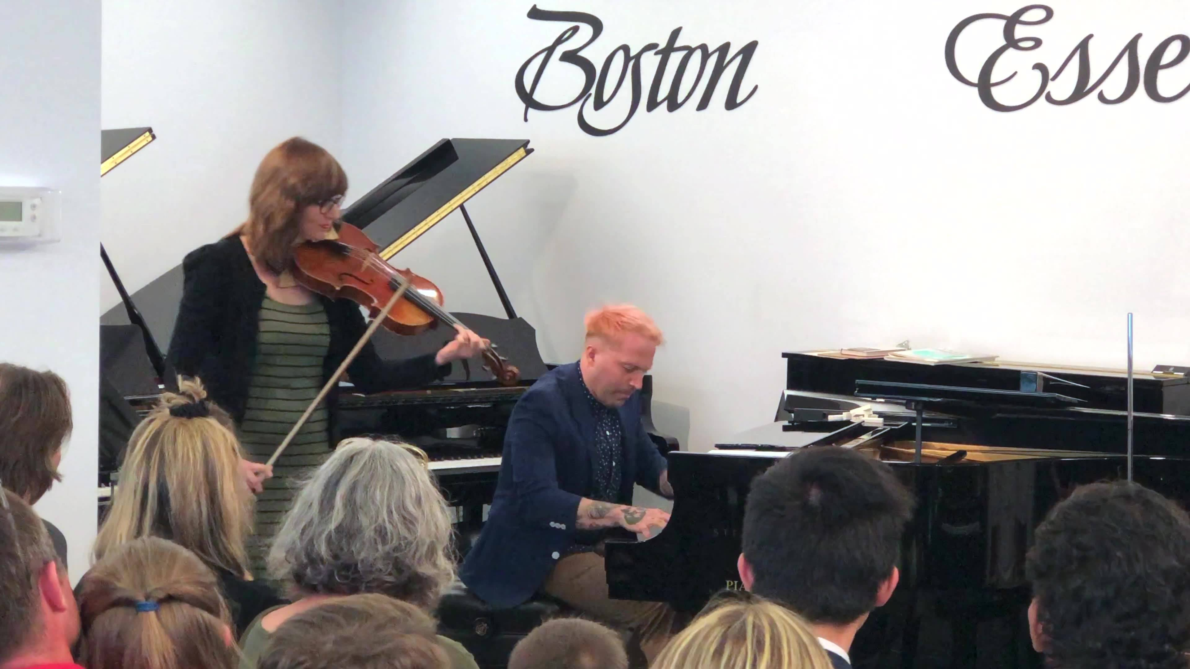 Improvisation for viola and piano